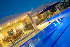 basenu domowy luksusowy dopłynięcie Fotografia Stock