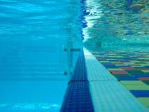 basenu dopłynięcie Fotografia Stock
