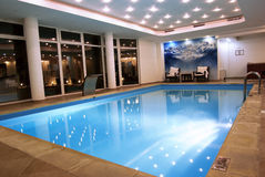 basenu dopłynięcie Zdjęcia Stock
