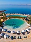 basenu hotelowy dopłynięcie Zdjęcia Royalty Free