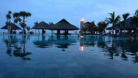 basenu hotelowy luksusowy dopłynięcie zdjęcie wideo