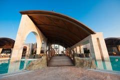 basenu hotelowy luksusowy dopłynięcie Fotografia Stock