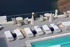 basenu hotelowy luksusowy morze Obrazy Stock