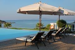 basenu hotelowy luksusowy morze Zdjęcie Stock