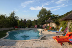 basenu kurort Obrazy Royalty Free