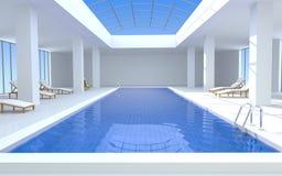 basenu luksusowy dopłynięcie Zdjęcia Stock