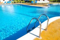 basenu pływać tropikalny Obraz Royalty Free