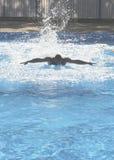 Basenu pływacki szkolenie Obrazy Royalty Free