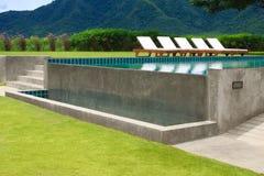 basenu plenerowy dopłynięcie Obrazy Stock