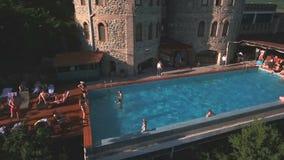 basenu przyjęcia strzelanina z trutniem zdjęcie wideo