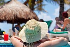 basenu relaxiation dopłynięcie Zdjęcie Stock