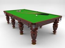 Basenu stół Zdjęcie Stock