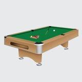 Basenu stół z piłkami Zdjęcie Stock