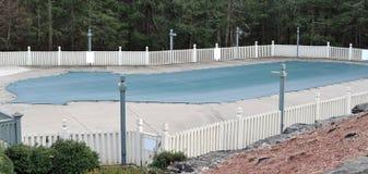 basenu zakrywający tarp Zdjęcie Royalty Free