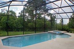 basenu zdroju dopłynięcie Obraz Royalty Free