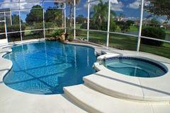 basenu zdroju dopłynięcie Zdjęcia Royalty Free