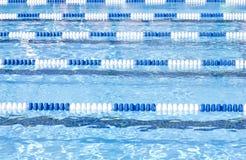 Basenów pływaccy Pas ruchu Zdjęcia Royalty Free