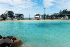 baseny parasoli pływający wody Zdjęcie Stock
