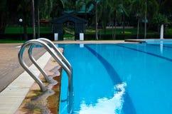 baseny parasoli pływający wody Obrazy Royalty Free