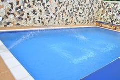 baseny parasoli pływający wody Obraz Stock
