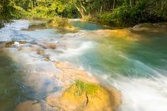 Baseny Przy Agua Azul Chiapas Obrazy Stock