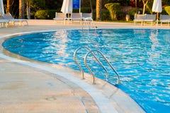 baseny schodów pływać Obraz Royalty Free