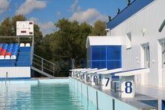 baseny sporty. Obrazy Royalty Free