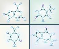 Bases de la DNA Fotografía de archivo