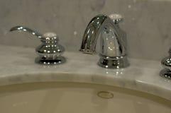 Bases del baño Foto de archivo libre de regalías