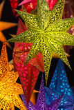 Bases multicoloras hechas del pergamino Imagenes de archivo