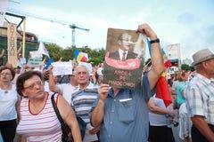 Basescu Pinocchio 免版税图库摄影