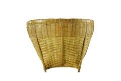 Baset di bambù Handcraft - la Tailandia Fotografia Stock Libera da Diritti