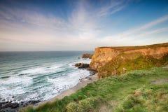 Baset zatoczka w Cornwall Zdjęcia Stock