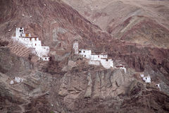 Basgo Buddhist monastery in Ladakh, India , Royalty Free Stock Photos