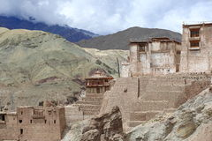 Basgo gompa Royalty Free Stock Photography
