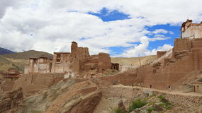 Basgo gompa Stock Photo