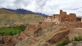 Basgo gompa Royalty Free Stock Photos