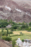 Basgo kloster i Ladakh, Indien, Royaltyfri Fotografi