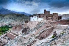 Basgo Monastery in Basgo, Ladakh, India Royalty Free Stock Images