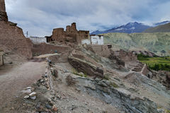 Basgo Monastery in Basgo, Ladakh, India Stock Images