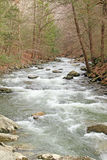 Bash Bish creek in Spring, NY Stock Photo