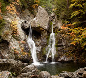 Bash Bish falls in Berkshires Stock Image