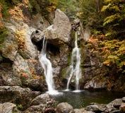 Bash Bish falls in Berkshires stock image