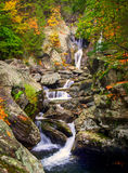 Bash Bish falls in Berkshires. Bish Bash Falls in Massachusetts in the Berkshire County stock photography