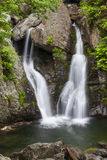 Bash Bish Falls II. Bash Bish Falls in the spring time stock image