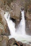 Bash Bish Falls in Spring, MA-NY border Stock Images
