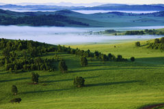 Bashang grassland of Inner Mongolia. Dam in the north China plain and the Inner Mongolia plateau steep rise handover, into step, so the name dam. Average Royalty Free Stock Photography