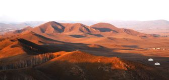 Bashang grassland in Inter-Mongolia  of China Royalty Free Stock Image