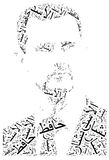 Bashar al-Assad portrait. Royalty Free Stock Image