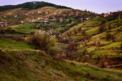 Bashevo village, Eastern Rhodopes, Bulgaria Royalty Free Stock Images